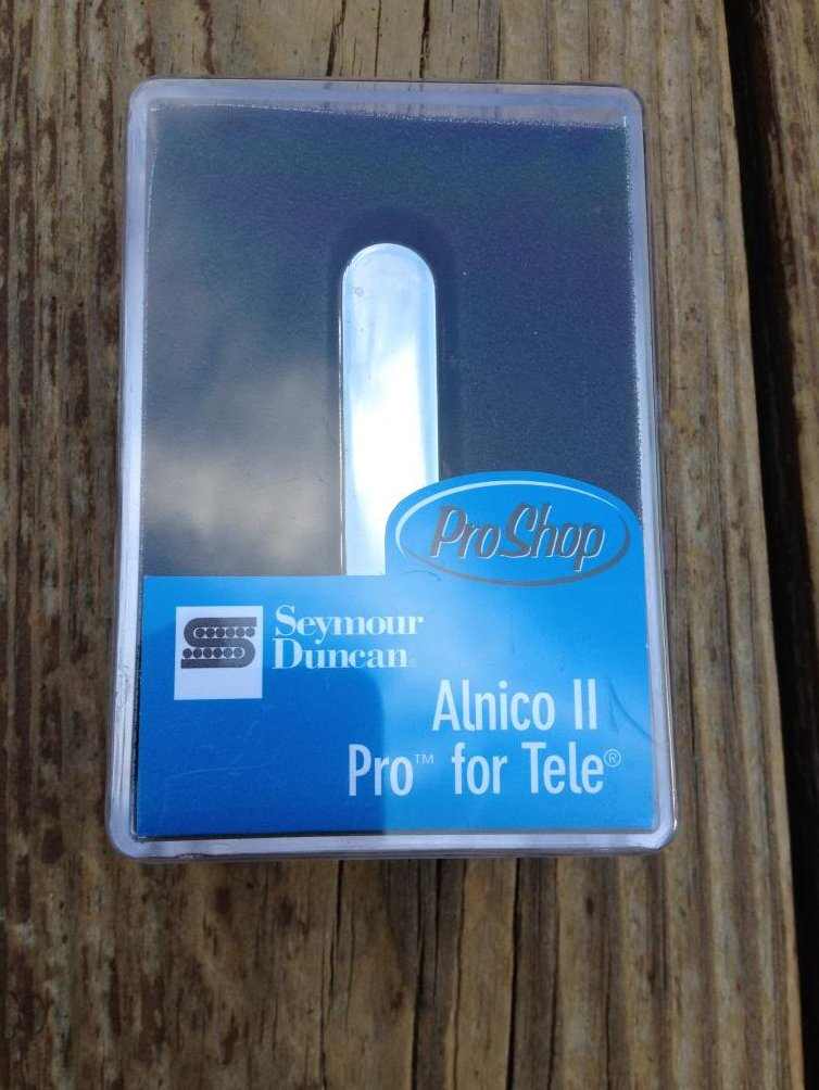 Seymour Duncan APTR-1 Alnico Pro II Rhythm Tele Pickup Fender Telecaster Neck