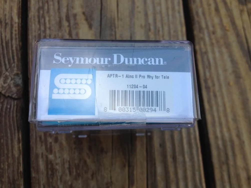 Image 2 of Seymour Duncan APTR-1 Alnico Pro II Rhythm Tele Pickup Fender Telecaster Neck