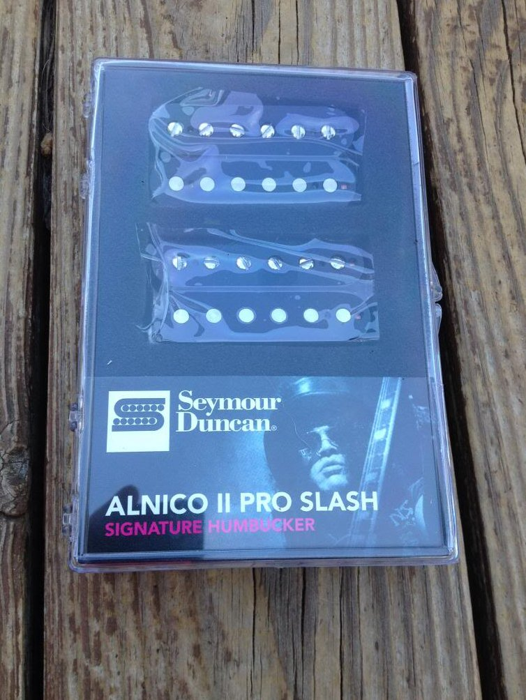 Seymour Duncan Slash APH-2s BLACK Alnico II Pro Bridge/Neck Humbucker Pickup Set