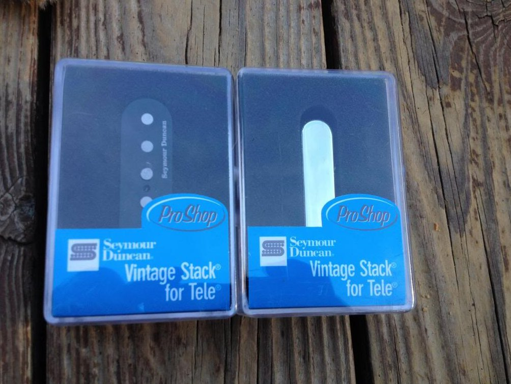 Seymour Duncan Vintage Stack Tele Pickup Set STK-T3B & STK-T1N Fender Telecaster