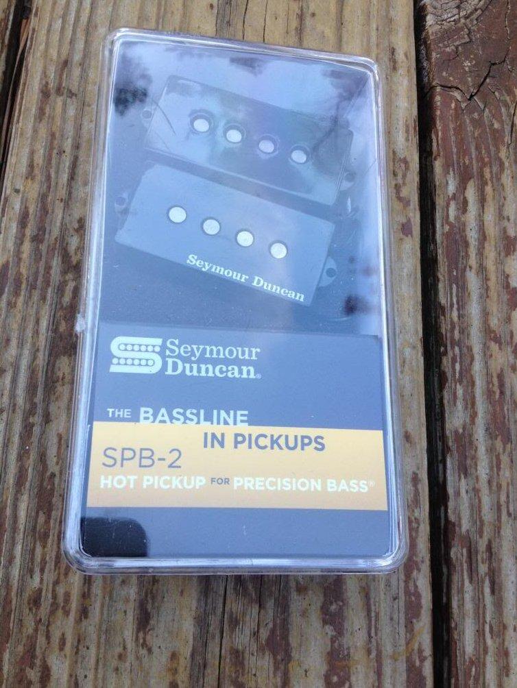 Image 0 of Seymour Duncan SPB-2 Hot P Bass Pickup SET Fender Precision Bass NEW Pickups