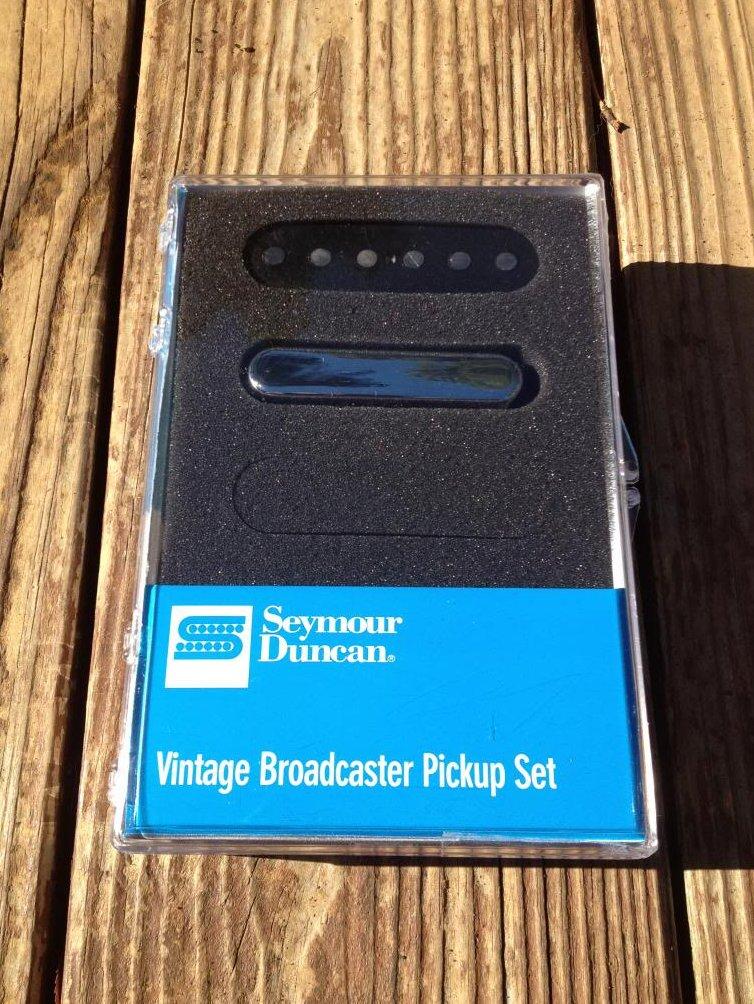 Image 0 of Seymour Duncan Vintage Broadcaster Pickup Set Fender Tele Telecaster STL-1S NEW