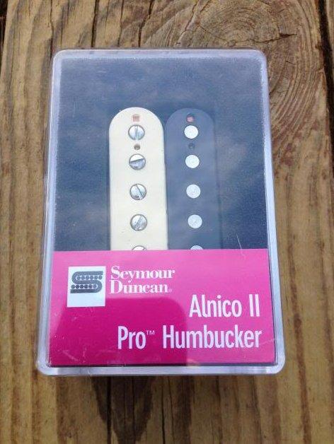 Seymour Duncan APH-1b Alnico II Pro Humbucker Pickup Bridge Zebra - Brand New!