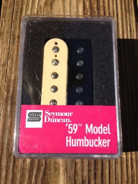 Seymour Duncan SH-1N 59 Model 4 Conductor Neck ZEBRA Humbucker Pickup Les Paul