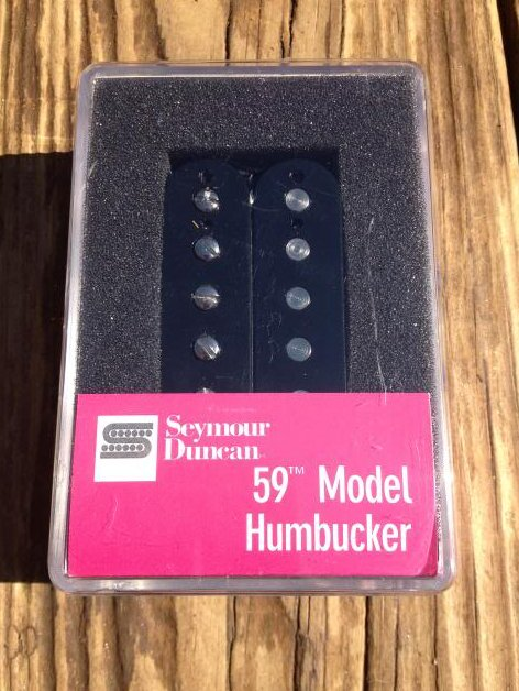Image 0 of Seymour Duncan SH-1N 59 Model 4 Conductor Neck BLACK PAF Les Paul Pickup
