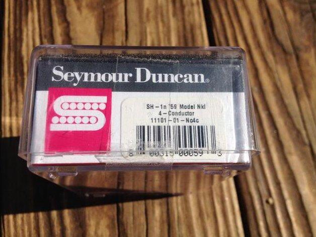 Image 2 of Seymour Duncan SH-1N 59 4 Conductor Humbucker Pickup Neck NICKEL 11101-01-Nc4c