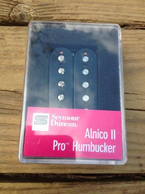 Seymour Duncan APH-1 Alnico II Pro Neck Pickup Black Humbucker
