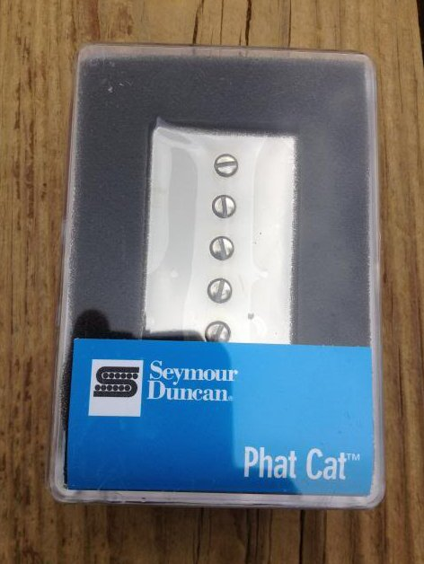Image 0 of Seymour Duncan SPH-1N Phat Cat Neck Pickup P-90 fit for Humbucker Nickel NEW