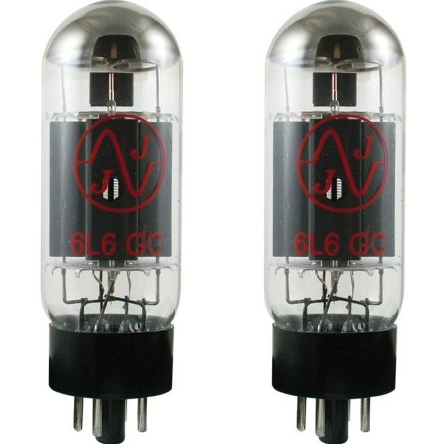 Image 0 of NEW JJ TESLA 6L6GC Matched Pair Power Amp Tubes Valve 6L6 Guitar Amplifier 5881