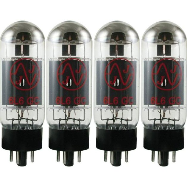 Image 0 of NEW JJ TESLA 6L6GC Matched Quad Power Amp Tubes Valve 6L6 Guitar Amplifier 5881