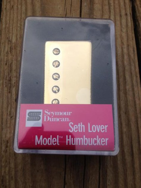 Seymour Duncan SH-55n Seth Lover Humbucker Pickup Neck GOLD Single Conductor