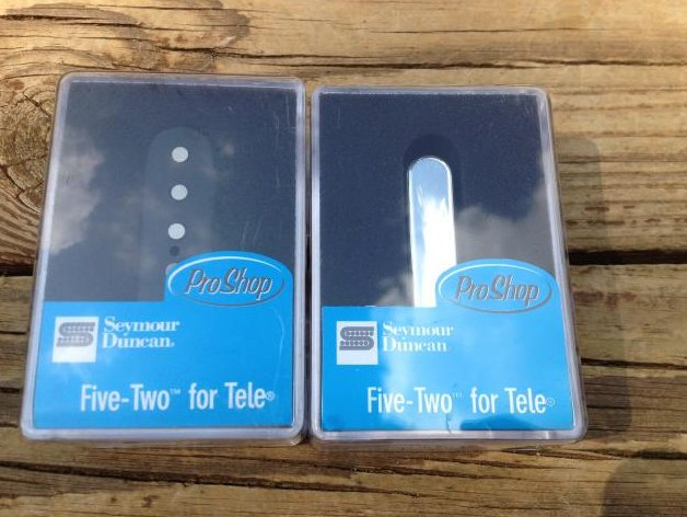 SEYMOUR DUNCAN FIVE-TWO Telecaster Pickup Set - STL52-1 Bridge & STR52-1 Neck
