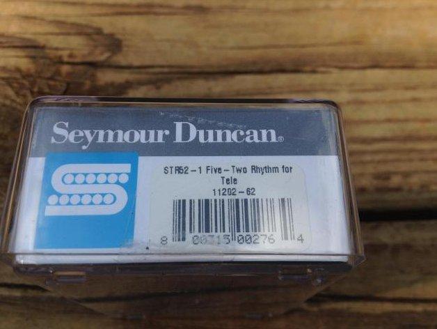 Image 2 of SEYMOUR DUNCAN STR52-1 FIVE-TWO Tele Rhythm Guitar Pickup Neck Fender Telecaster