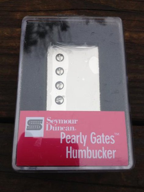 SEYMOUR DUNCAN SH-PG1 Pearly Gates Humbucker Pickup NICKEL Neck Strat Les Paul