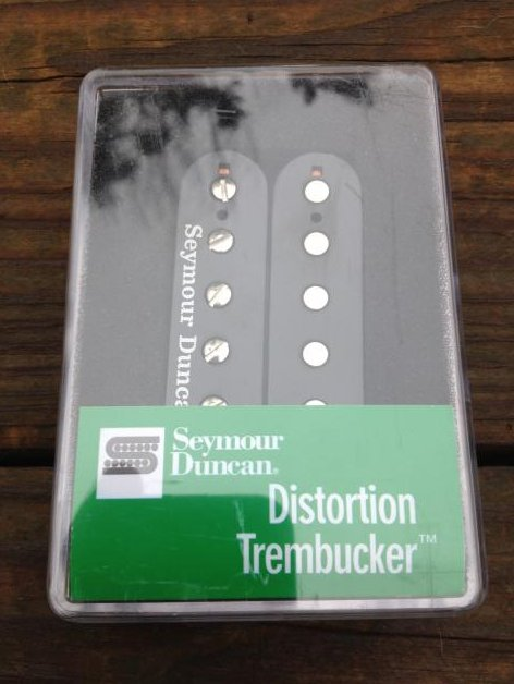 Image 0 of SEYMOUR DUNCAN TB-6 Duncan Distortion Trembucker Pickup Balck Bridge Floyd Rose