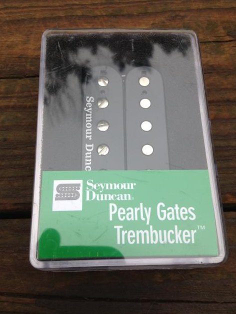 SEYMOUR DUNCAN Pearly Gates TREMBUCKER Pickup TB-PG1b Bridge Position BLACK