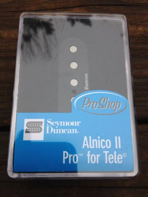 SEYMOUR DUNCAN ALNICO II PRO Telecaster APTL-1 Lead Bridge Pickup Fender Tele