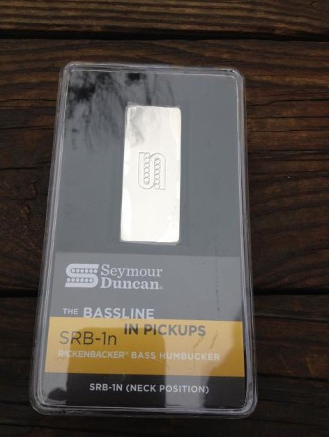 SEYMOUR DUNCAN SRB-1n Pickup for RICKENBACKER 4003 Bass Humbucker Neck NEW