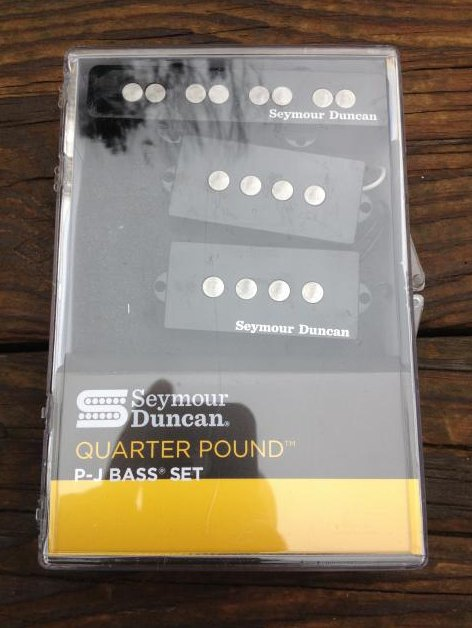 Image 0 of SEYMOUR DUNCAN Quarter Pound P/J Bass Guitar Pickup Set Fender Precision / Jazz