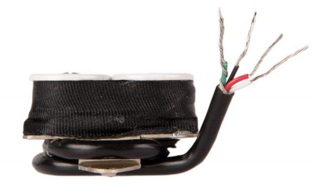 Image 2 of Suhr Doug Aldrich Hot Humbucker Bridge Lead 50mm Guitar Pickup NICKEL CHROME