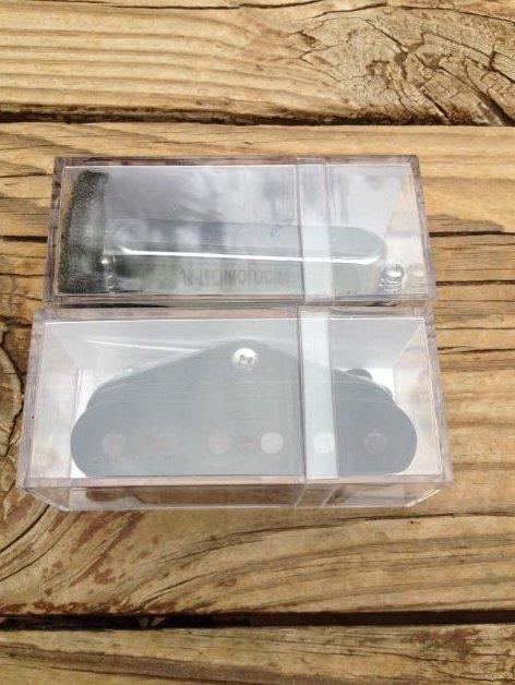 Image 1 of Suhr Classic T Tele Fender Telecaster Bridge & Neck Pickup Set Chrome Nickel