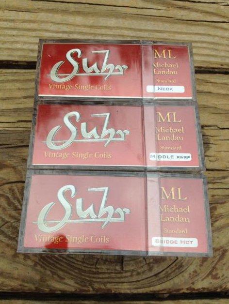 Image 2 of Suhr ML Standard PICKUP SET Single Coil Michael Landau Fender Strat White