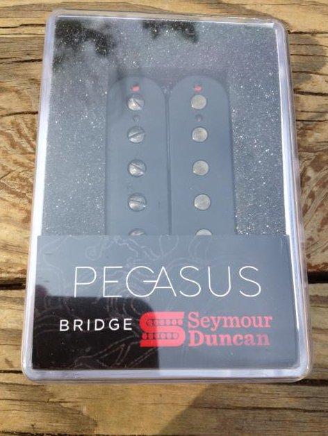 Image 0 of Seymour Duncan Pegasus 6 String Bridge Humbucker Pickup BLACK NEW
