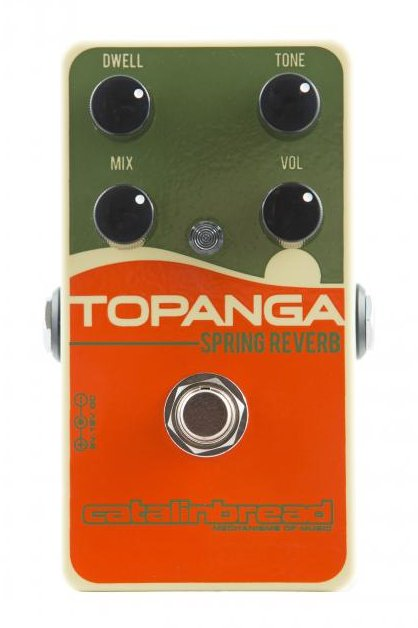 Catalinbread Topanga Spring Reverb Guitar Effect Pedal