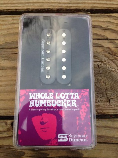 Seymour Duncan SH-18b Whole Lotta Bucker Humbucker Bridge Black Jimmy Page
