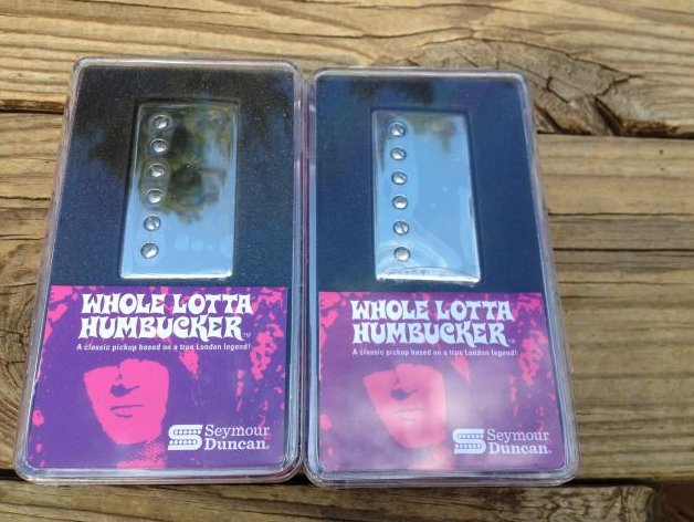Seymour Duncan SH-18 Whole Lotta Bucker Humbucker Pickup SET NICKEL Jimmy Page