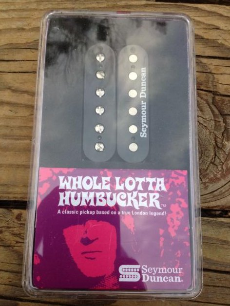 Seymour Duncan SH-18n Whole Lotta Bucker Humbucker Pickup Neck Black Jimmy Page