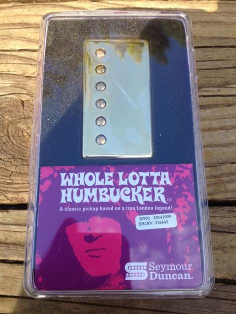 Seymour Duncan SH-18n Whole Lotta Bucker Humbucker Pickup Neck Gold Jimmy Page