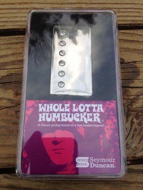 Seymour Duncan SH-18n Whole Lotta Bucker Humbucker Neck Silver Nickel Jimmy Page