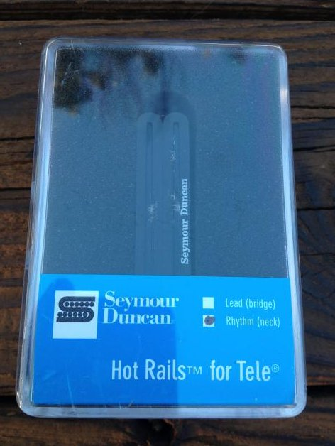 Seymour Duncan STHR-1n Hot Rails Tele Neck Rhythm Telecaster Guitar Pickup