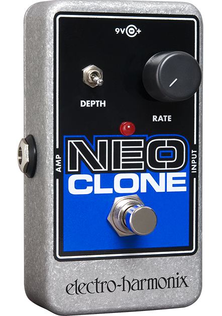 Image 0 of Electro-Harmonix EHX Neo Clone Analog Chorus Nano Pedal NEW Authorized Dealer