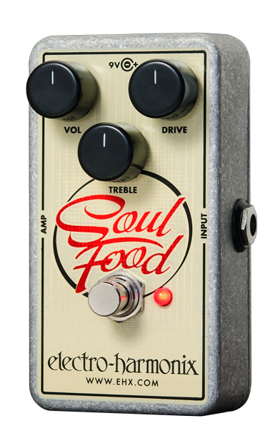 Image 1 of Electro Harmonix Soul Food Transparent Overdrive Distortion w/ Power Supply