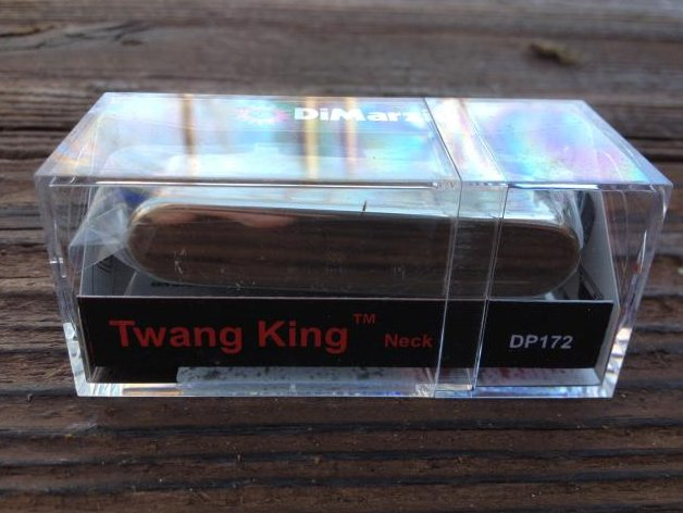 DiMarzio Twang King Tele Neck Pickup W/Chrome Cover DP 172 Telecaster DP172