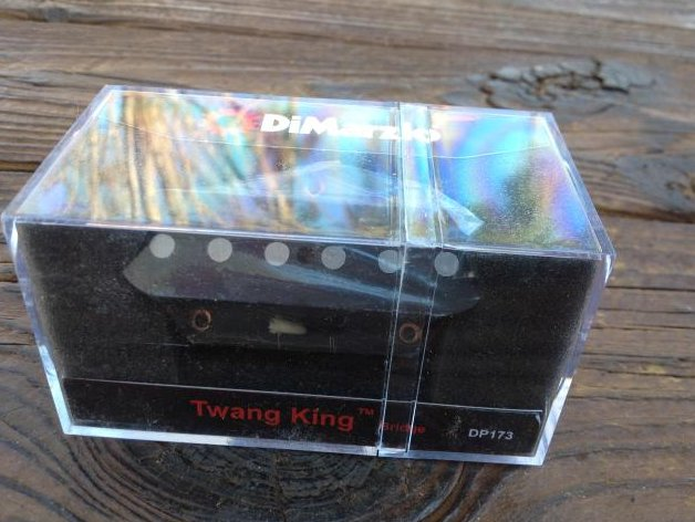 DiMarzio Twang King Tele Bridge Pickup Black Lead DP 173 Fender Telecaster DP173