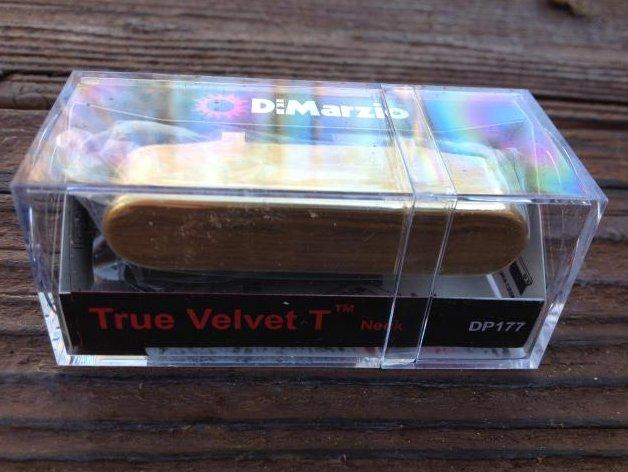 DiMarzio True Velvet T Telecaster Neck Rhythm Pickup DP177 Tele DP177 Gold