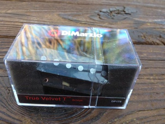 Image 0 of DiMarzio True Velvet T Telecaster Bridge Lead Pickup DP 178 Fender Tele DP178