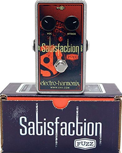 Image 0 of Electro Harmonix Satisfaction Fuzz Guitar Pedal w/ 9V Battery Nano