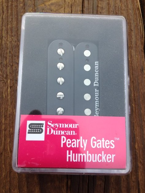 Seymour Duncan SH-PG1N Pearly Gates Humbucker Pickup Black Neck Strat Les Paul