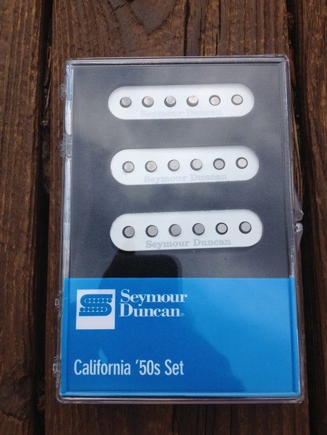 Seymour Duncan SSL-1 California 50's Single Coil Set Fender Stratocaster Black