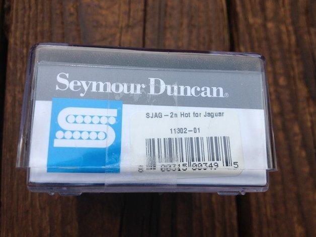 Image 2 of Seymour Duncan SJAG-2N Hot Jaguar Neck Pickup for Fender Guitar NEW