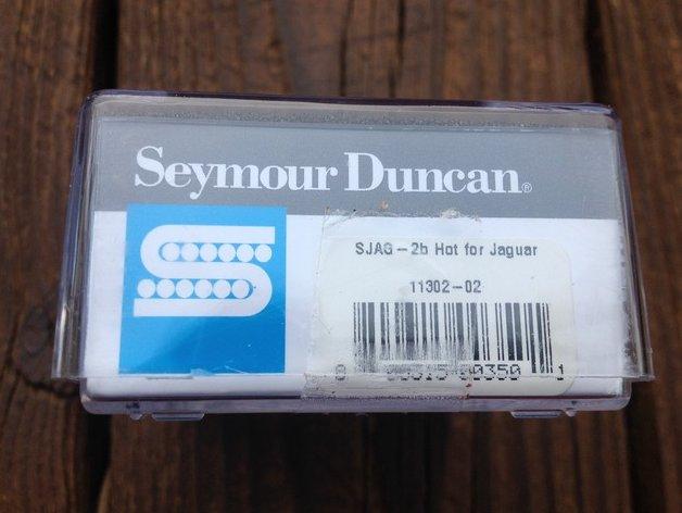 Image 2 of Seymour Duncan SJAG-2B Hot Jaguar Bridge Pickup for Fender Guitar NEW