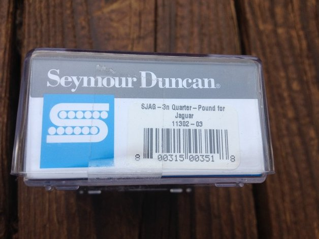 Image 2 of Seymour Duncan SJAG-3N Quarter Pound Jaguar Neck Pickup for Fender Guitar NEW