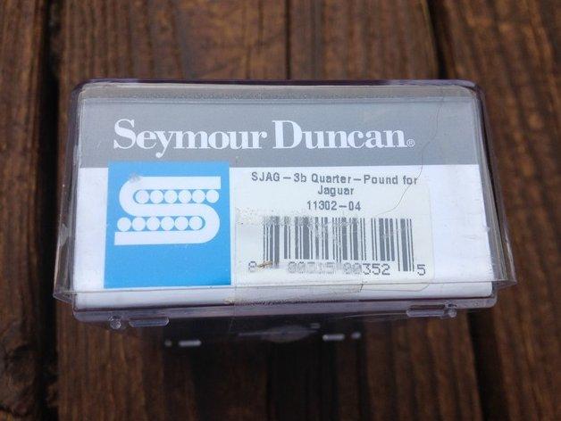 Image 2 of Seymour Duncan SJAG-3B Quarter Pound Jaguar Bridge Pickup for Fender Guitar NEW