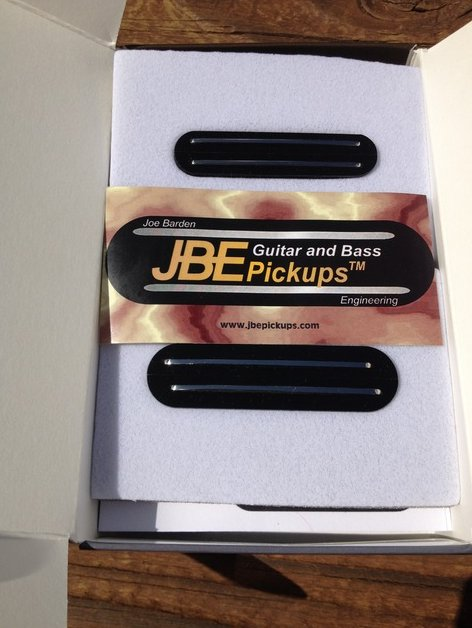 Image 1 of JBE Danny Gatton T Tele Telecaster Pickup Set BLACK (forrmerly Joe Barden)