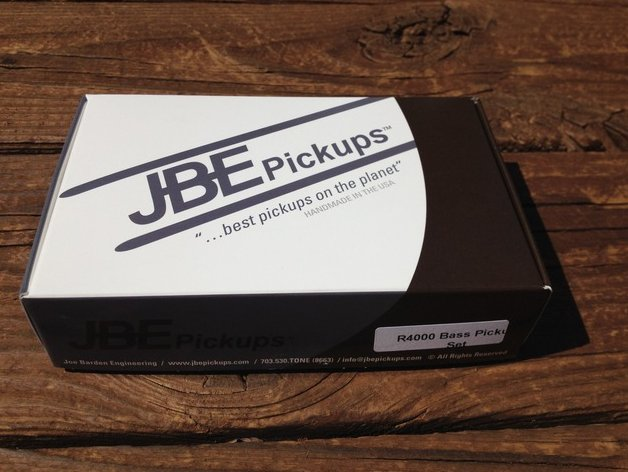 JBE R4000 Bass Pickup SET Rickenbacker 4003 / 4001 (formerly Joe Barden)