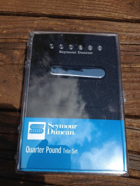 Seymour Duncan Quarter Pound Tele Pickup Set Telecaster Bridge & Neck 11208-14